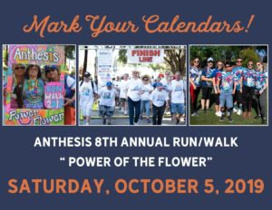 """Anthesis 8th Annual Run/Walk """"Power of the Flower"""""""